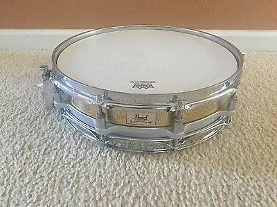 Pearl 3.5x14 Free Floating Brass Shell Snare Drum