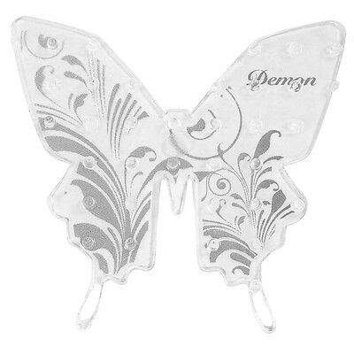 New DEMON BUTTERFLY STOMP PAD SILVER