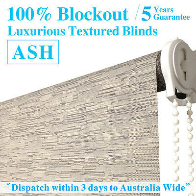 LUXURIOUS TEXTURED BLOCKOUT Roller Blinds
