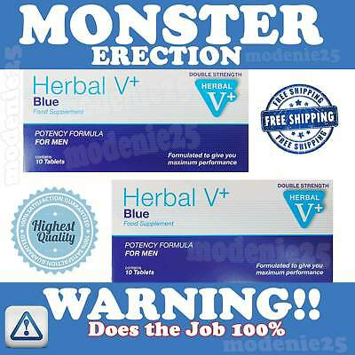 Herbal Blue Sex Male Tabs Genuine Strong Supplement High Strength For Male