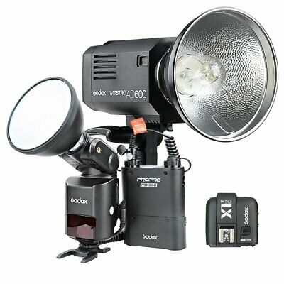 Godox AD360II-C 2.4G HSS Camera Flash + AD600 Godox Mount Flash + X1T-C Trigger