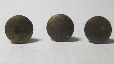 Lot of 3 Antique Phonograph Knobs Vintage Cabinet Pulls Phonograph Parts (#18A)