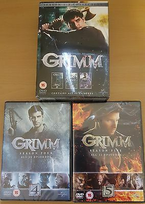"Grimm Complete Season 1-5 Collection Dvd Box Set 30 Disc R4 ""new&sealed"""