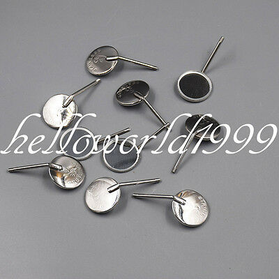 10 Pc Dental Plain Stainless Steel Mouth Mirror Mirrors 4# Size 20mm Odontoscope