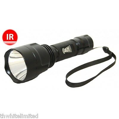 Clulite Sneakybeam Infra Red Illuminator Night Vision Hunting IR1 LED TORCH (CH)