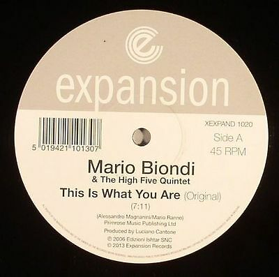 "BIONDI, Mario & THE HIGH FIVE QUINTET - This Is What You Are - Vinyl (12"")"