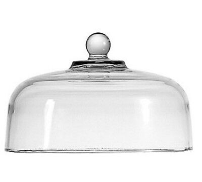 "New Anchor Hocking Glass Cake Dome Cheese Dome for Stand 11.25"" Cake Cover"