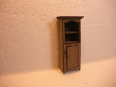 Dollhouse Miniature Half Inch Scale  Cupboard