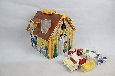 Playmobil Take / Carry Along House / Cottage with Furniture