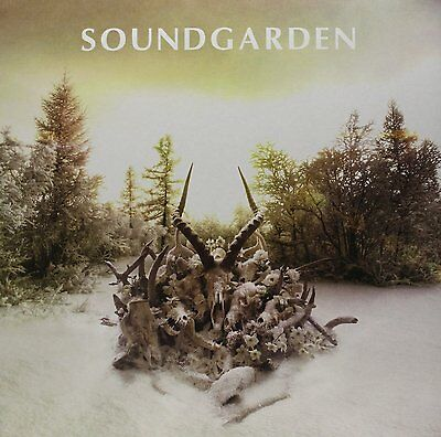 SOUNDGARDEN King Animal 2 x Vinyl LP 2012 (13 Tracks) NEW & SEALED