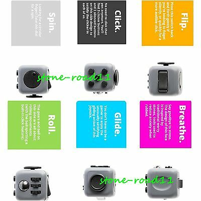 Fidget Cube Fidgetcube Focuse Stress Relief Top Christmas And Hanukkah Gift Toys