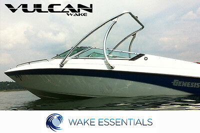 """Wakeboard Tower - Polished -  2.25"""" tubing Vulcan Boost - from WAKE ESSENTIALS"""