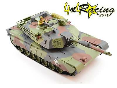 Hobby Engine M1A1 Abrams 1/20 Tank 2,4GHz Sound Splashproof 0731 carro armato