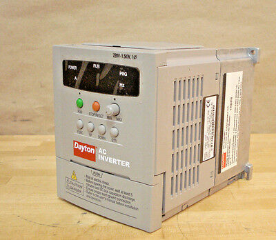 AC Inverter / Adjustable Frequency Drive. 2 HP, 1.5 kW, 230V, 7A