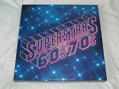 READERS DIGEST, SUPERSTARS OF THE 60s & 70s, VINYL RECORD COMPILATION ALBUM.