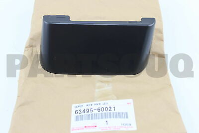 6349560021 Genuine Toyota COVER, ROOF RACK LEG, CENTER RH 63495-60021