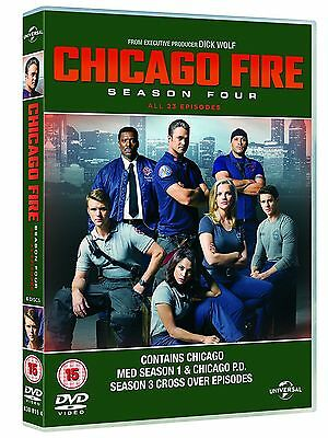CHICAGO FIRE - Complete Series 4 Collection Boxset (NEW DVD)