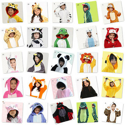 Hot-kids- unisex pajamas pajamas jumpsuit hoodie animal cosplay onesie costume