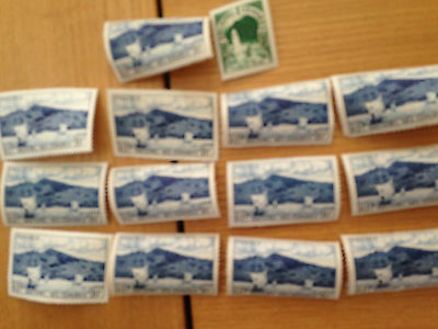 Small lot of mint mostly nhm stamps of French Comores