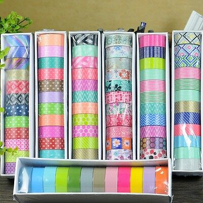 12 pcs/set washi tape set masking sticker christmas decorative diy scrapbooking