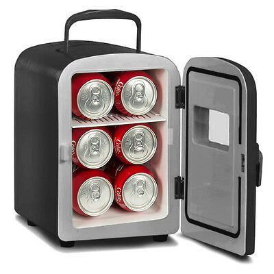 Portable Mini Baverage Fridge Cooler and Warmer Auto Car Boat Office AC & DC