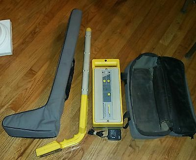 Rycom Cable & Pipe Locator 8879 Transmitter w/New Battery & 8879CP Reciever
