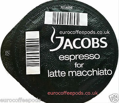 25 x Tassimo Jacobs Espresso Coffee T-discs (SOLD LOOSE) Expresso Pods Latte
