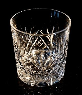 Beautiful Royal Doulton Juliette Crystal Double Old Fashioned