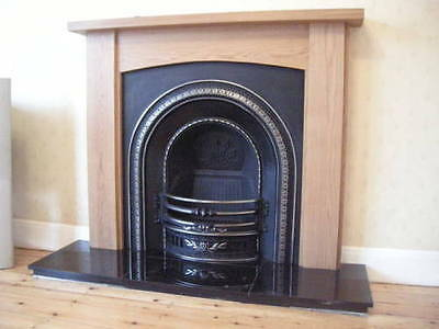"Hand Made Solid Oak Fire Surround Mantelpiece ""Nostell"" Ossett Oak []''''''[]"