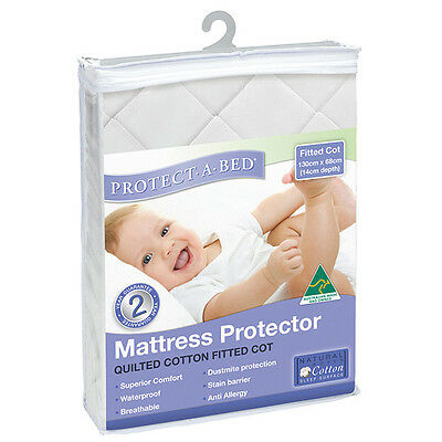 NEW Protect-A-Bed Quilted Cot Mattress Protector