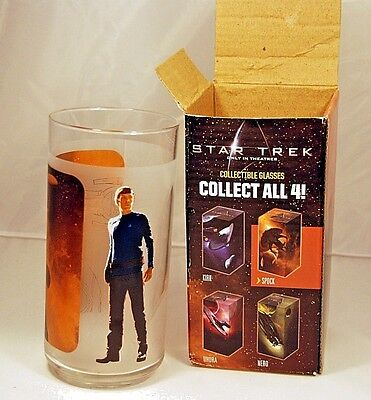 NEW IN BOX Star Trek Mr Spock 2008 Collectible Glass FREE SHIP