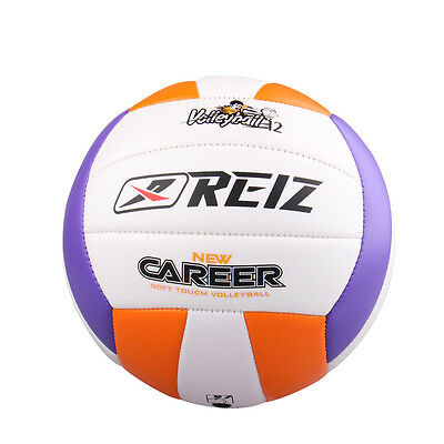 REIZ Official Beach Volleyball Size Outdoor Indoor Training PU Leather