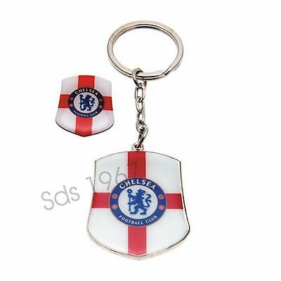 Chelsea F.C Keyring - With Badge Design