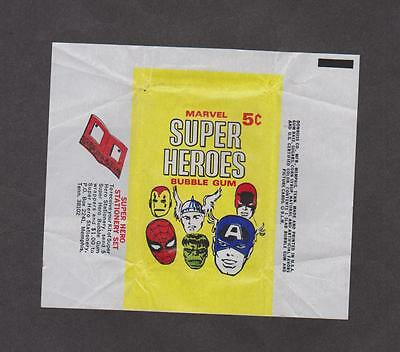 1966 Donruss Marvel Super Heroes Wrapper