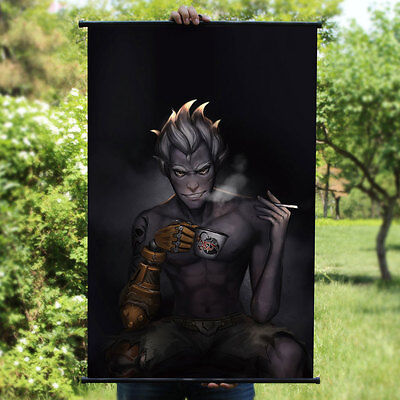 Overwatch JUNKRAT Cool Home Decor Poster Wall Scroll Painting 60*90cm