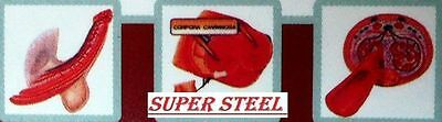 6 Super Steel Pills /male Sexual Testosterone Booster For A Hard Penis
