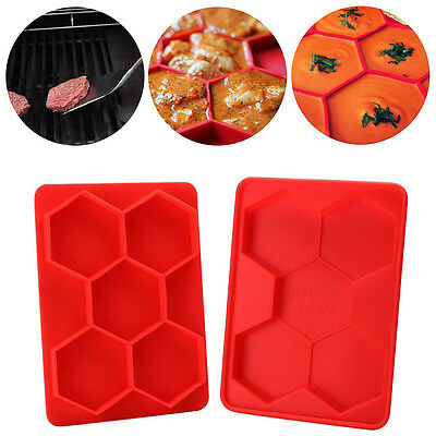 Silicone Burger Press Stuffed Freezer Container Hamburger Patty Maker Mould bos