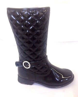 ae41b5a766097 Infants Faux Fur Quilted Kids Girls Mid Calf Zip Warm Snow Winter Boots