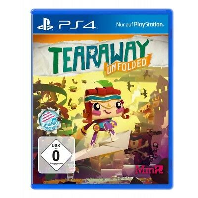 Tearaway Unfolded - PlayStation PS4 - deutsch - Neu / OVP