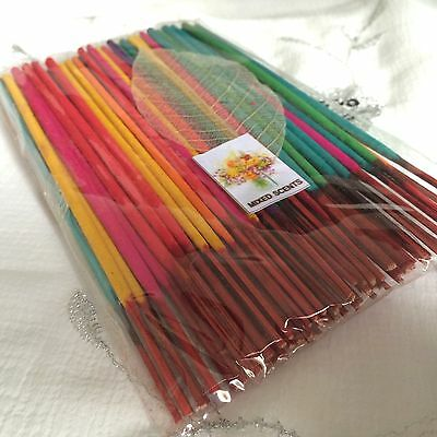 Job Lot Of Over 80 Mixed Scents Incense Joss Sticks By Spirit Of Equinox, Floral