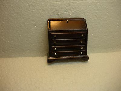 Dollhouse Mini Half Inch Scale Colonial Slant Top Desk