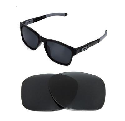 New Polarized Black Replacement Lens For Oakley Catalyst Sunglasses