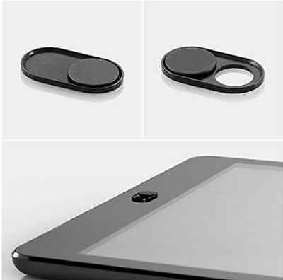 Webcam Cover Black for Privacy Open or Close with Just One Simple Movement