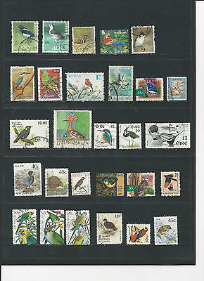 BIRDS - A SELECTION OF USED STAMPS DEPICTING BIRDS - BIR1ab 2 photos