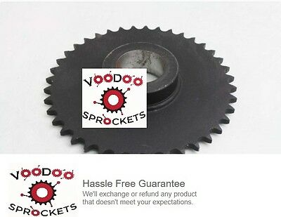 """50B40 G&G, 5/8 Inch Pitch, Chain Size 50, Finished Bore Sprocket 1"""" Bore"""