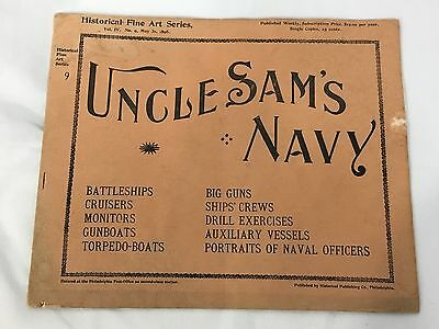 1898 Uncle Sam's Navy Booklet