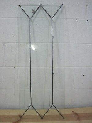 Leaded Glass Panel Diamond Gothic  14 X 46 unframed