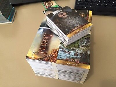 The Hobbit Desolation of Smaug - LOTR - Trading Card BULK LOT of 350 - 2015 - NM