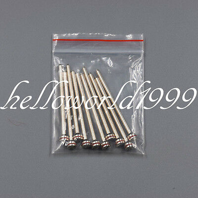 10pc Dental Lab Jewelry Beauty Polishing Shank Mandrel Work With Wheels Mandrels