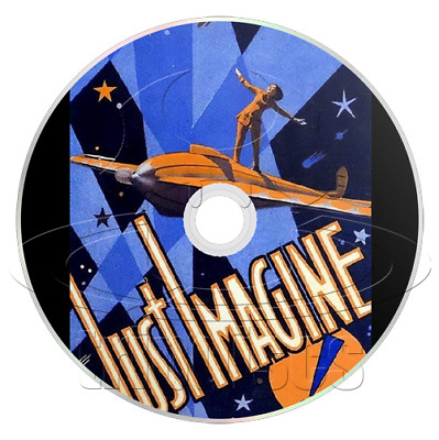 Just Imagine (1930) El Brendel Comedy, Fantasy, Musical Film / Movie on DVD